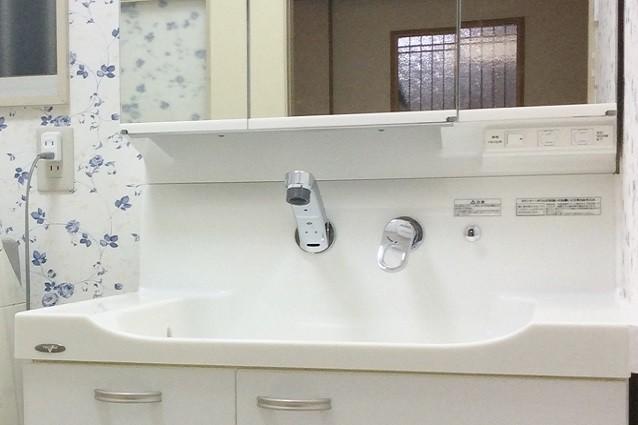 リフォーム 洗面 所