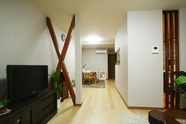 京都市下京区K様邸1階改装工事(狭小間口)