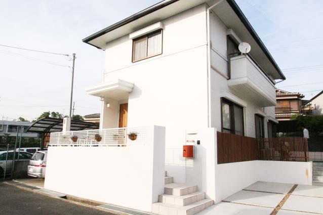京都府城陽市S様邸外壁塗装