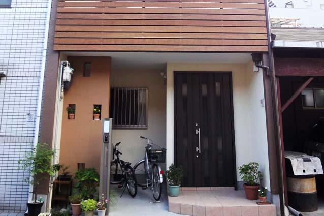 京都市下京区S様邸外壁塗装