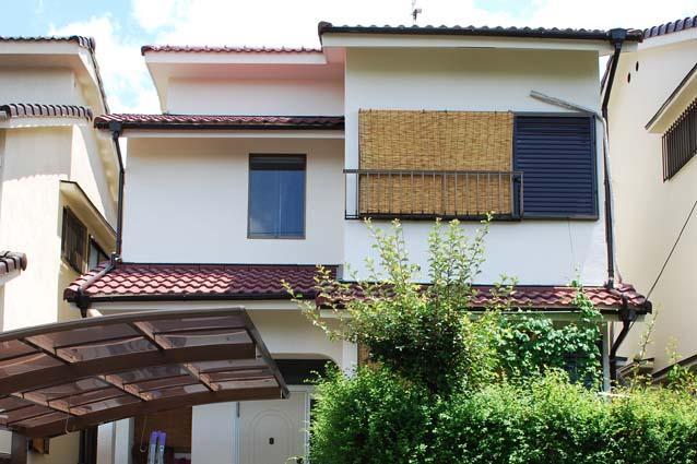 京都府城陽市H様邸外壁塗装