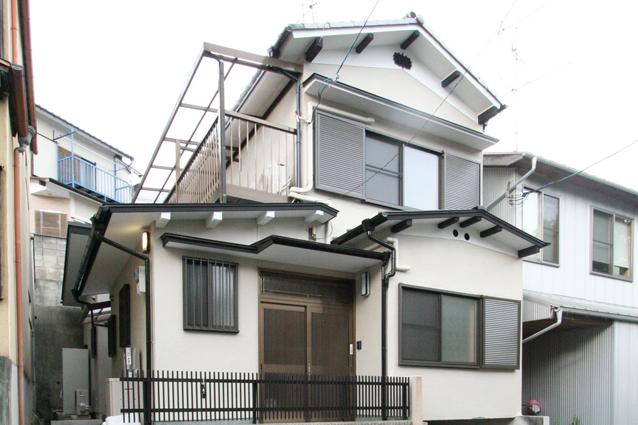 京都市北区H様邸外壁塗装