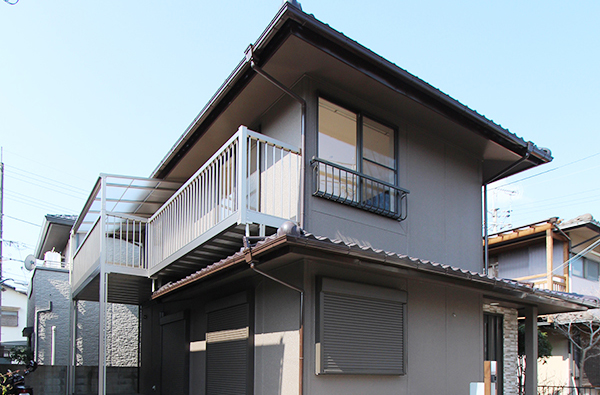 京都府向日市K様邸外壁塗装