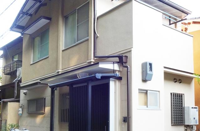 京都市左京区K様邸外壁塗装