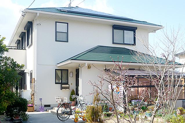 岐阜県羽島市M様邸外壁塗装