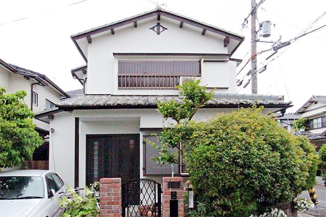 京都市西京区K様邸外壁塗装