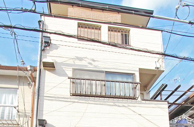 京都市左京区M様邸外壁リフォーム