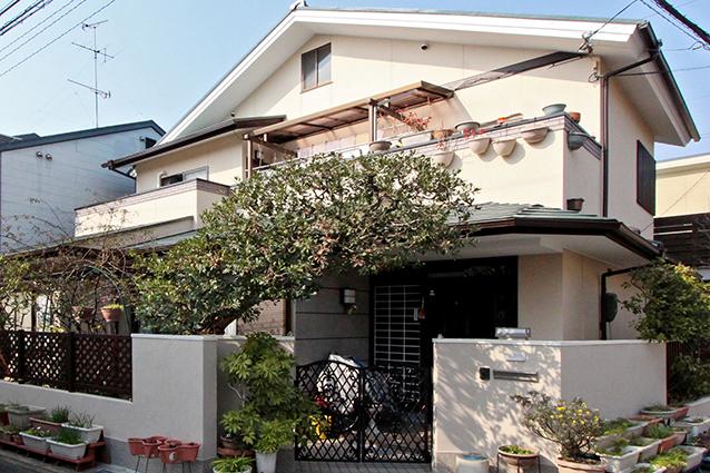 京都市右京区K様邸外壁塗装