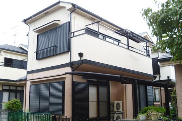 埼玉県上尾市A様邸外壁塗装