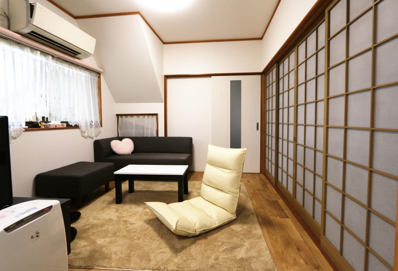 奈良県M様邸和室から洋室に