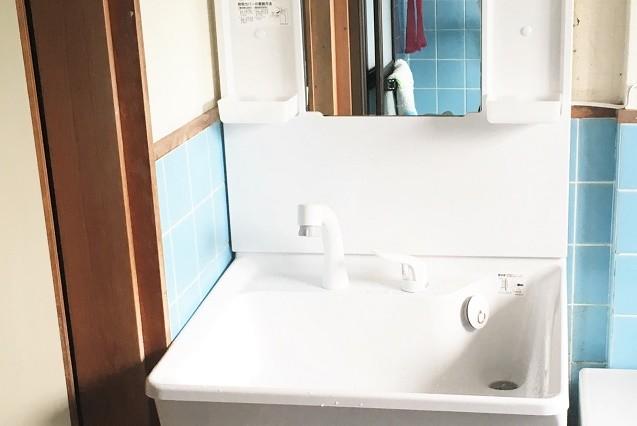 奈良県大和高田市K様邸洗面所リフォーム