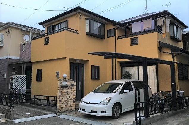 奈良県香芝市I様邸外壁リフォーム