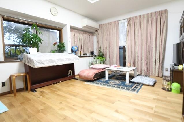 奈良県吉野郡N様邸リビング床貼り替え