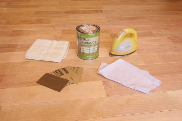 無垢材のお手入れ方法