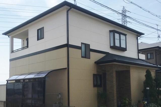 奈良県大和高田市Y様邸外壁塗装