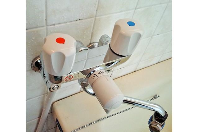 京都市中京区N様邸水栓交換(浴室)