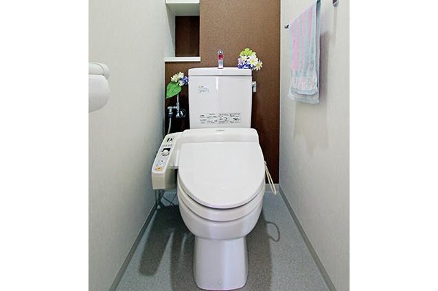 京都市右京区Y様邸トイレ内装