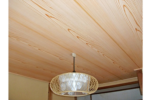 京都市北区H様邸和室天井入れ替え