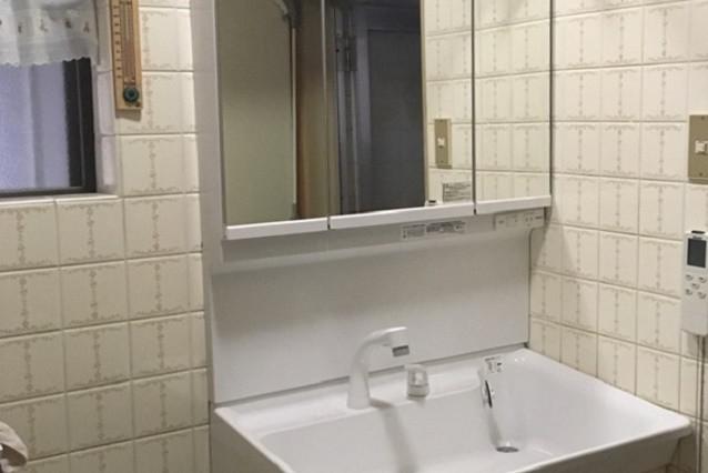 奈良県橿原市M様邸一戸建て洗面所リフォーム