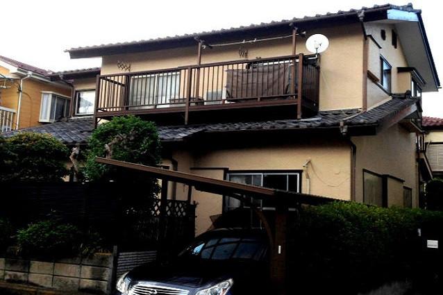 埼玉県上尾市T様邸外壁塗装