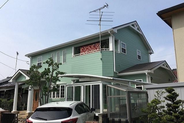 埼玉県鴻巣市T様邸外壁塗装